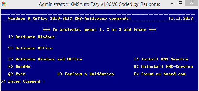 how to  kms activator for windows 8.1