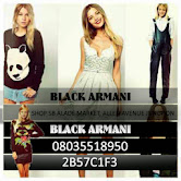 Black Armani Wardrobe