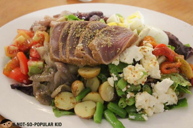 The heart warming Tonnos Salata of Cyma