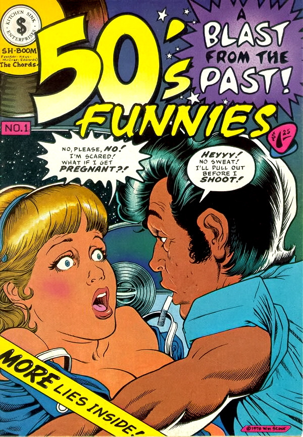SICKO-PSYCHOTIC: 50\'s Funnies (1980; Kitchen Sink Press)