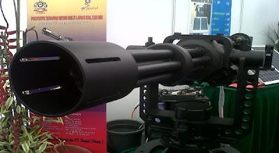 Senjata rahasia militer di pameran Hakteknas 2013