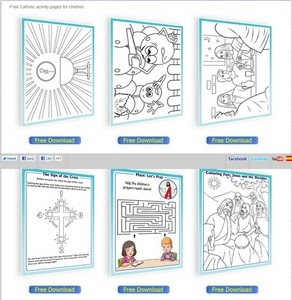 Gratifying image pertaining to catholic printable activities