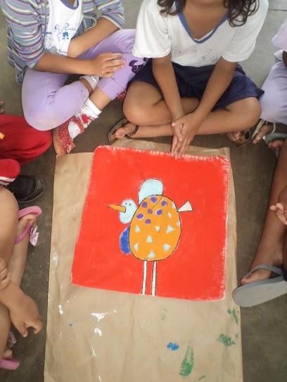 Experiência Pedagógica Obra de Arte Gustavo Rosa Espaço do Educador