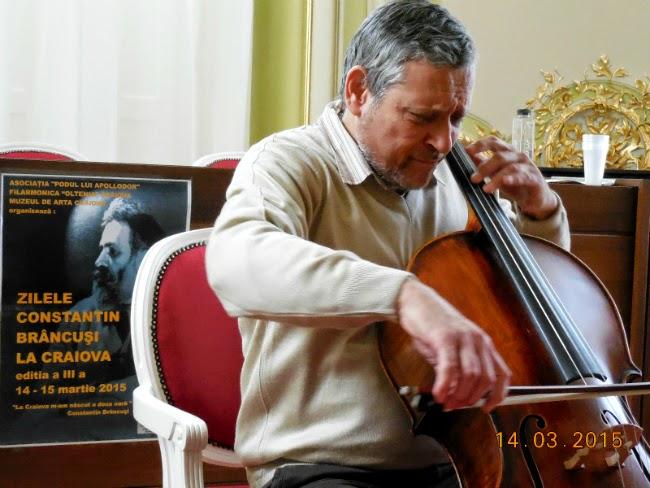Mircea Suchici la Zilele Constantin Brancusi la Craiova