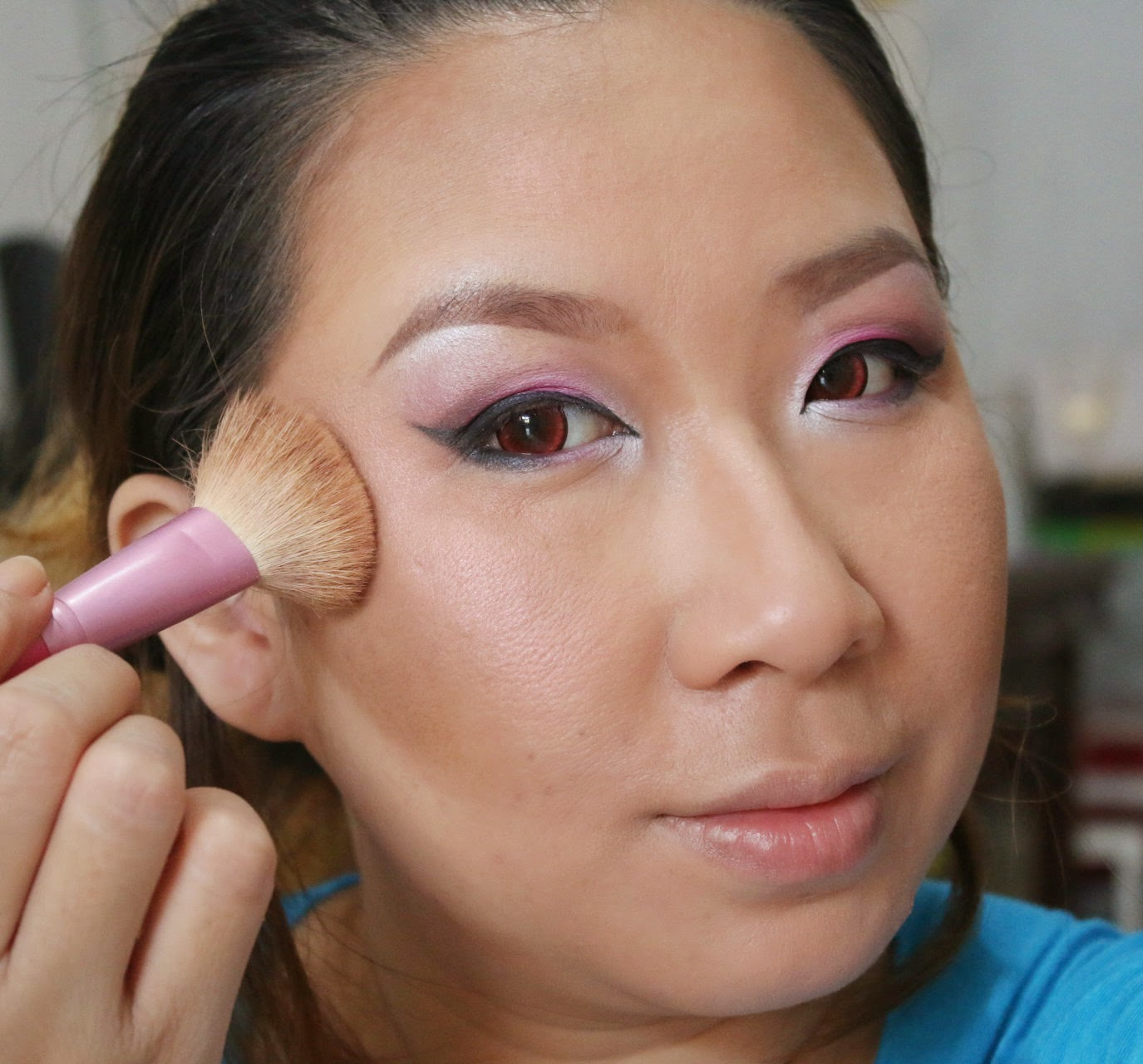 Make Up Tutorial : Pinky Party Look
