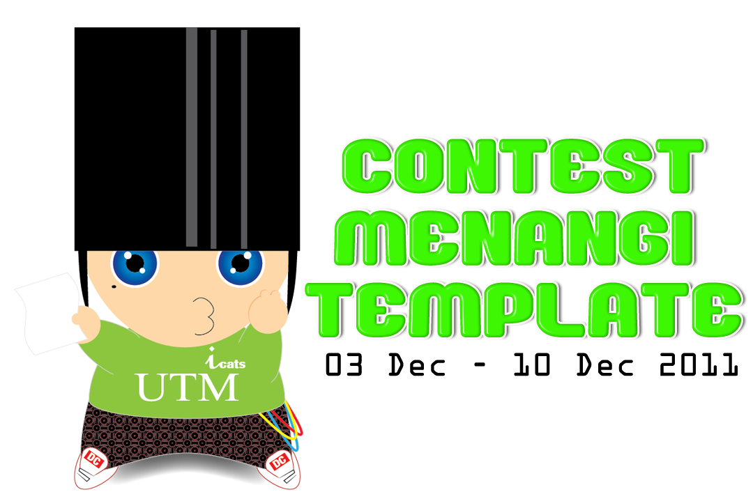 Contest Menangi Template by Wan_hazel