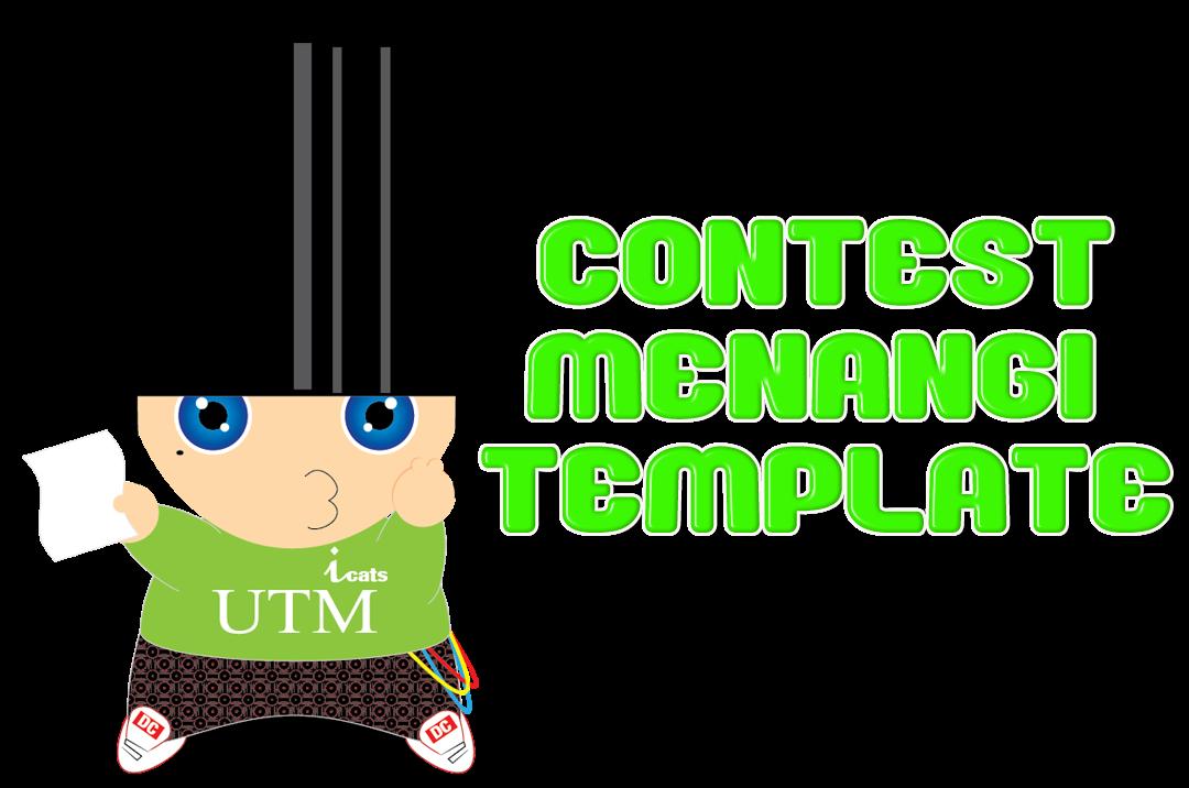 Contest Menangi Template by Wan_hazel