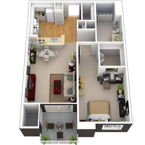 Contoh Desain Rumah Minimalis Versi 3D