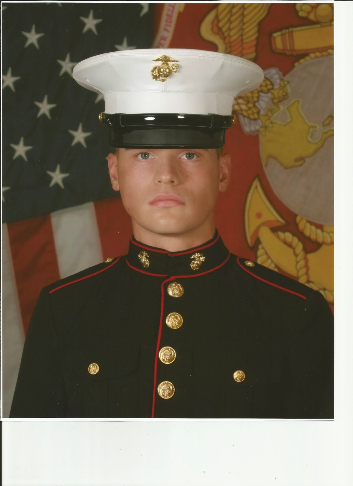 Our newest Marine