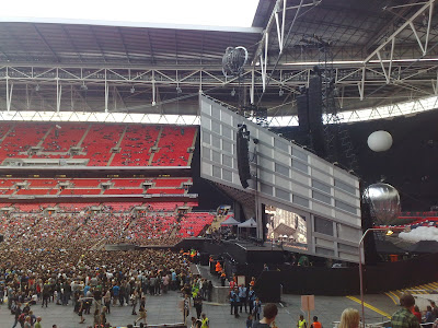 Muse Stage Wembley Stadium