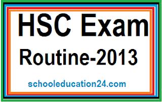 HSC Exam Routine 2013
