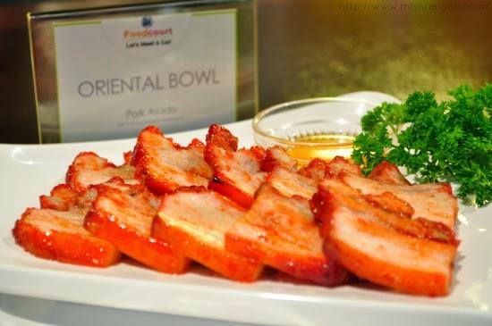 Pork Asado from Oriental Bowl SM Fairview Foodcourt
