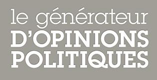 Le Generateur d'Opinions Politiques