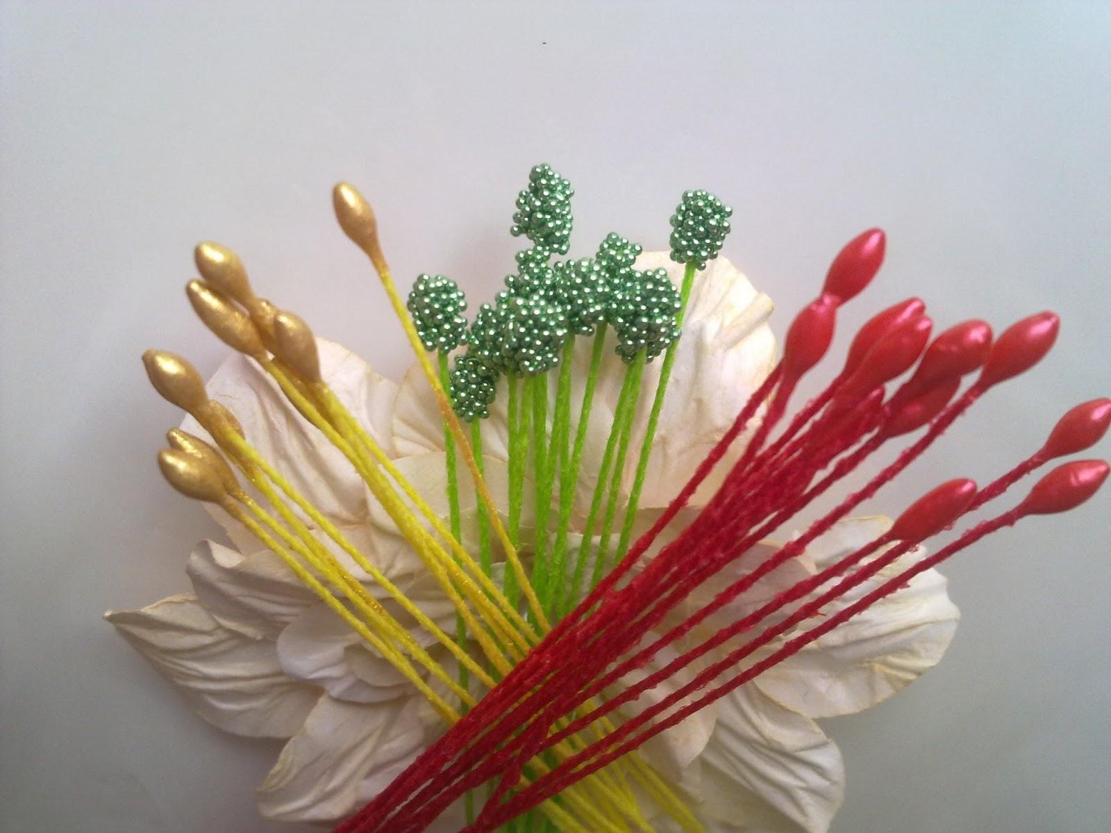 Из тычинки цветок мастер класс