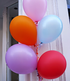 Dundee, craft shop, grand opening, sewing, crafting, DIY, supplies, haberdashery, The Haberdashery Project, new store, balloons, celebration, colour