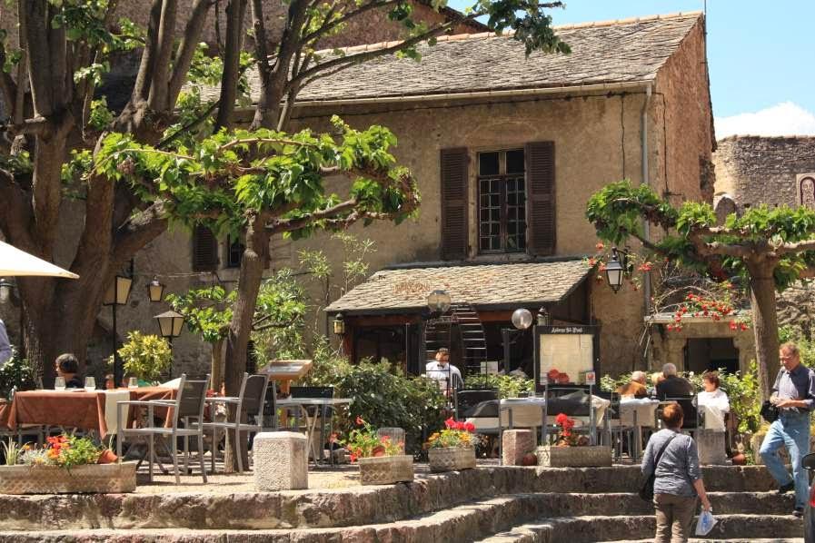 Nice corner of Villefranche de Conflent