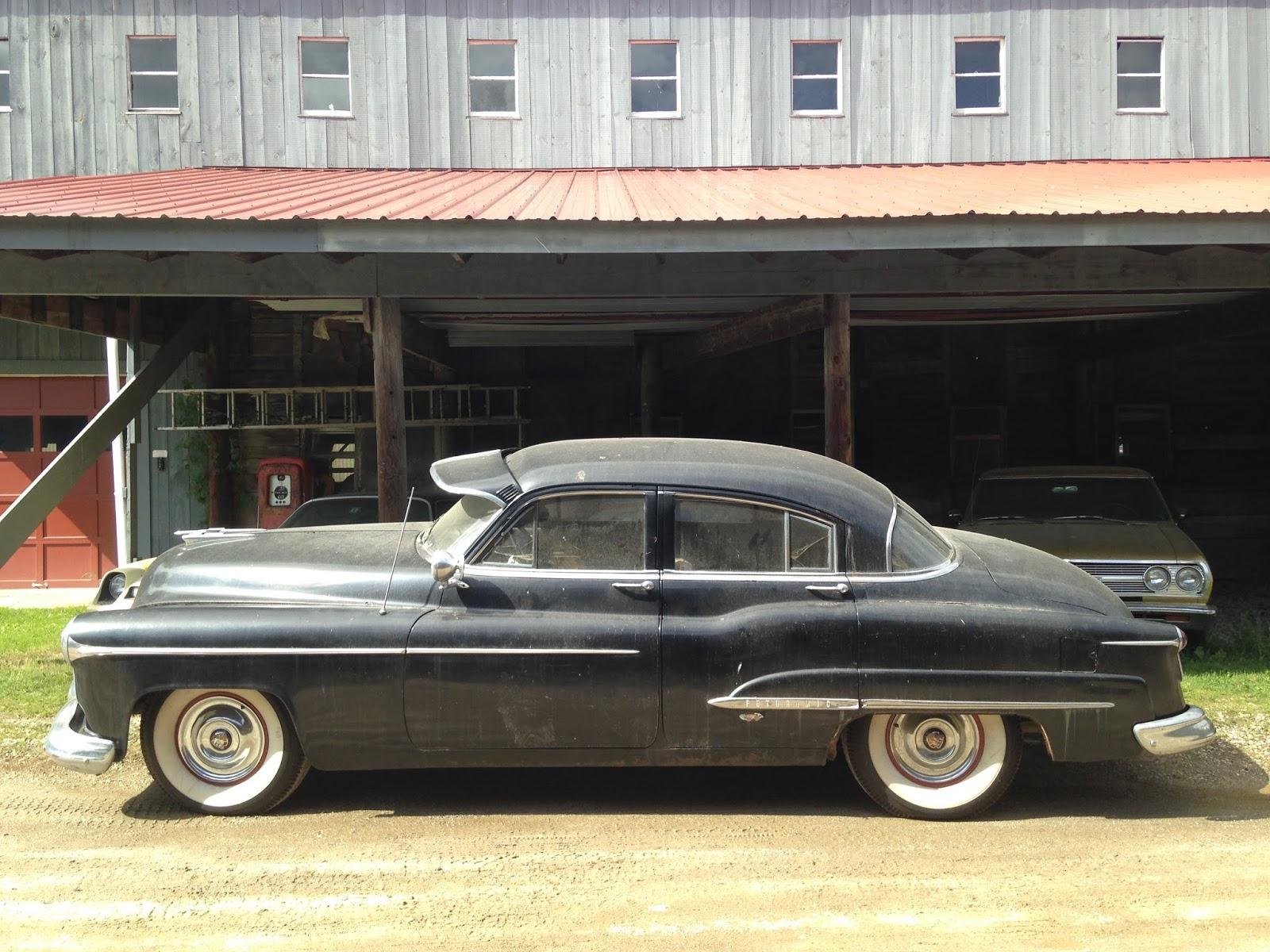 1950 Oldsmobile 98 Futuramic Freeport Maine The Car Looks Original A Barn Find