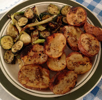 BBQ Roasted potatoes & vegetables