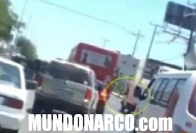 Video: Graban como sicarios golpean a un hombre En Reynosa, Tamaulipas