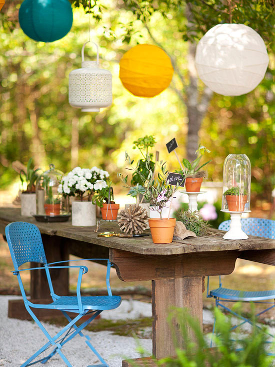 Easy Decorating Ideas for Summer 2013 from BHG ~ Decorating Idea