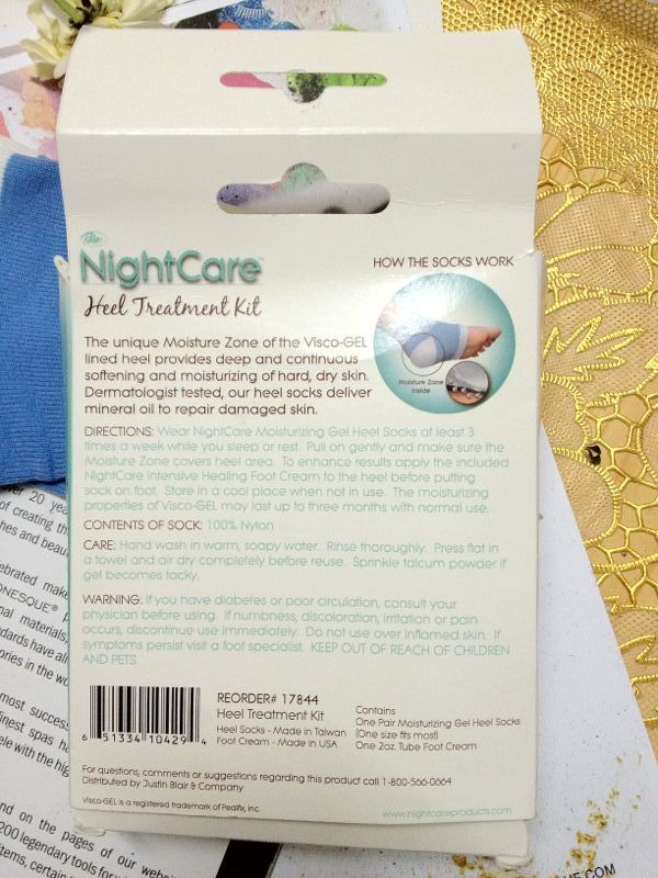 NightCare Heel Treatment Kit by Nightcareproducts.com review