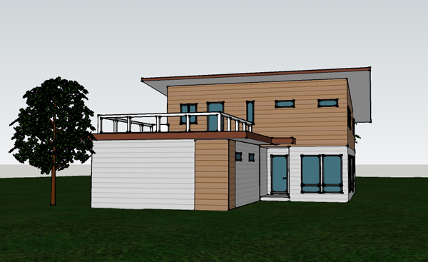 Modern House Design at ClemDesign: A new Modern ICF Home ...