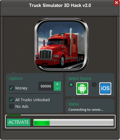 Truck Simulator 3D Game Hack