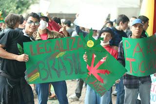 Marcha da Maconha, Liberalização das drogas, tráfico, STF