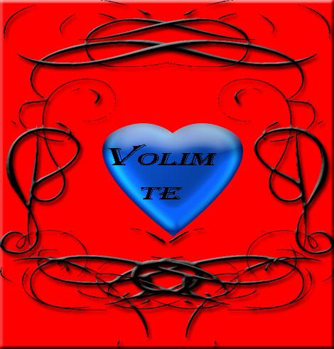 Plavo srce za vašu  ljubav