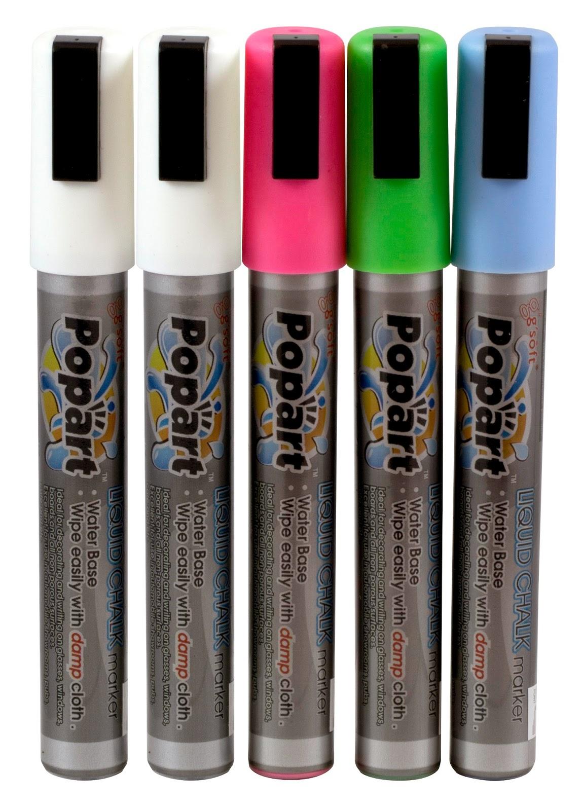 Set de Carioci Colorate pentru Scris pe Tabla Neagra, Pret: 68 RON (cu TVA), Accesorii Restaurant, www.amenajarihoreca.ro