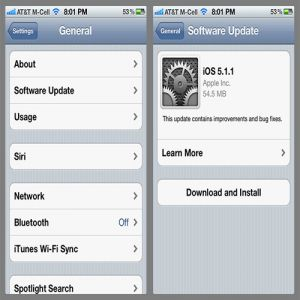 Cara Jailbreak Update Apple&#39;s iOS 5.1.1 Terbaru