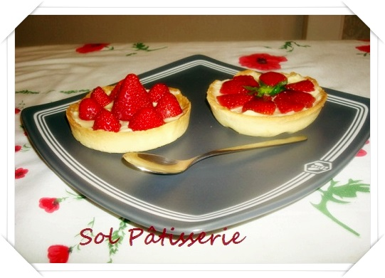 Tartelettes aux fraise
