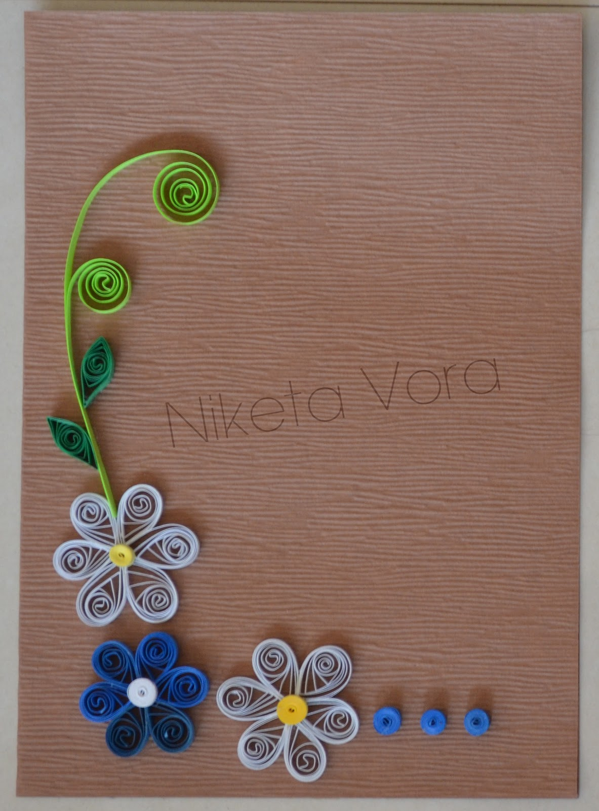 niketa\u0027s creative corner my quilling collection