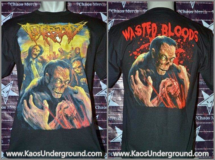turbidity band kaosunderground.com deathmetal 7chaos merch heretic