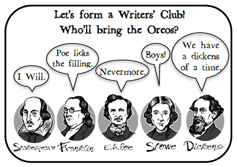 high school creative writing clubs