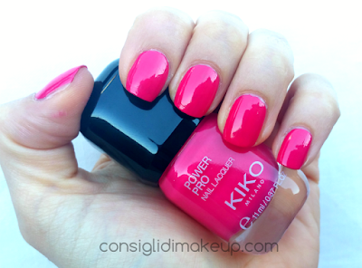 nuovi smalti kiko swatch