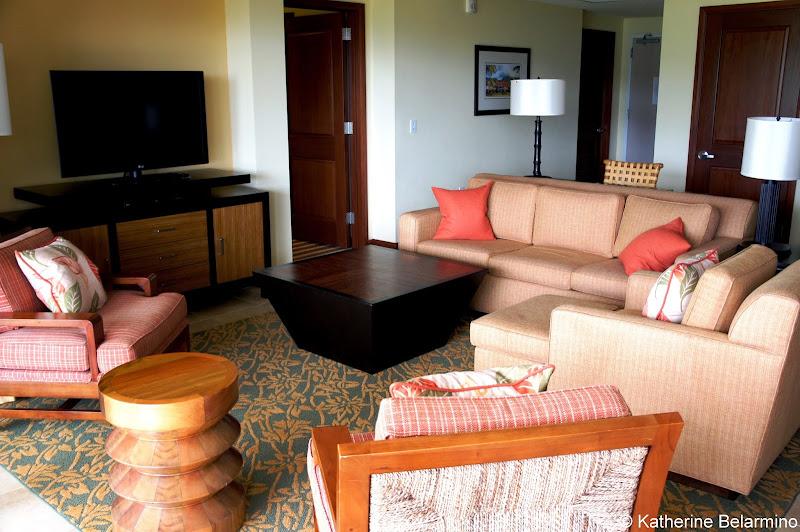Marriott's Kauai Lagoons Living Room Hawaii