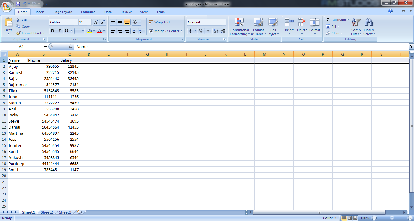 Insert Data Into Table From Excel File In Sql Server