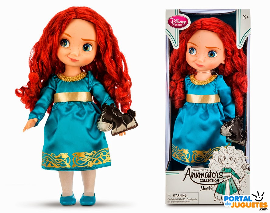 muñeca merida coleccion disney animators tercera edicion