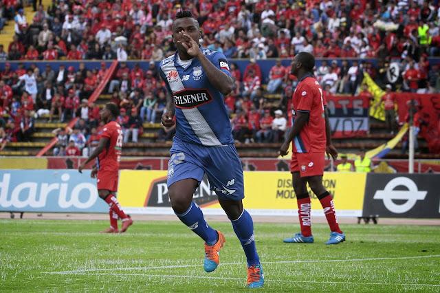 Emelec no pudo ganarle a El Nacional en Quito