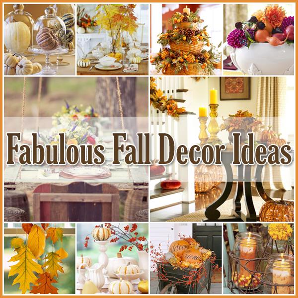 35 Fabulous Fall Decor Ideas