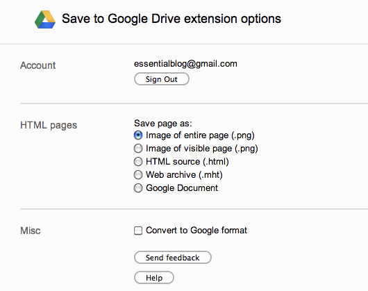 how to save google docs on flash drive