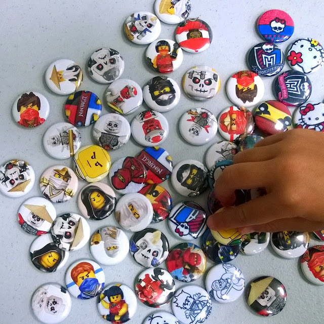 Ninjago pins