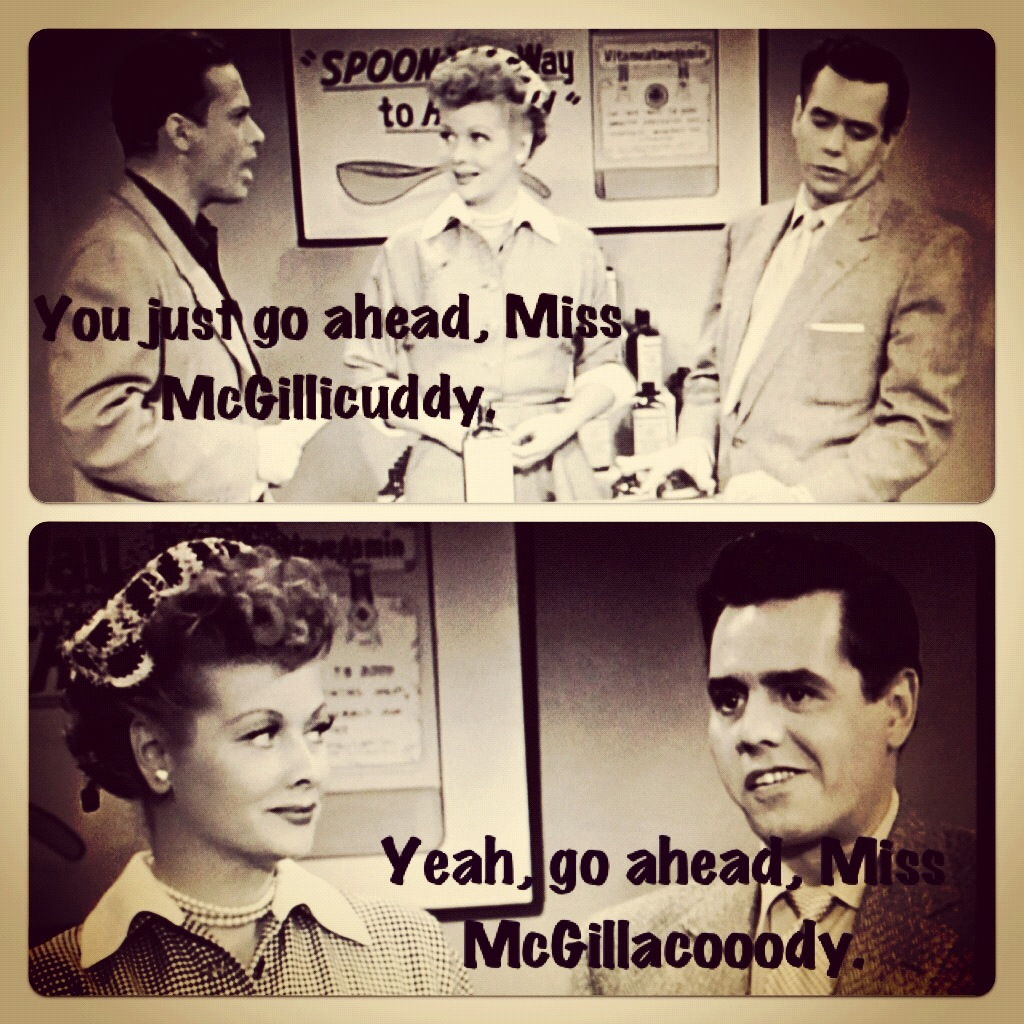 a blog about lucille ball i love lucy lucy does a tv