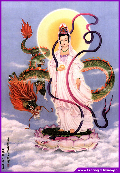 La voie shamanique du Dragon . Kuan-yin