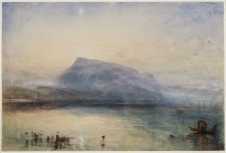 The Blue Rigi, Sunrise, 1842, J. M. W. Turner, watercolor  Photo © Tate, London 2014