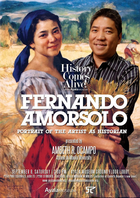 Fernando Amorsolo: Portrait of the Artist as Historian lecture by Ambeth Ocampo