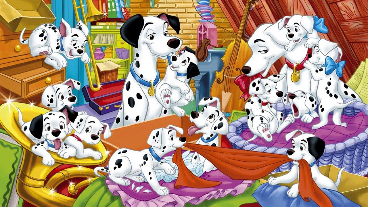 American top cartoons dalmatian