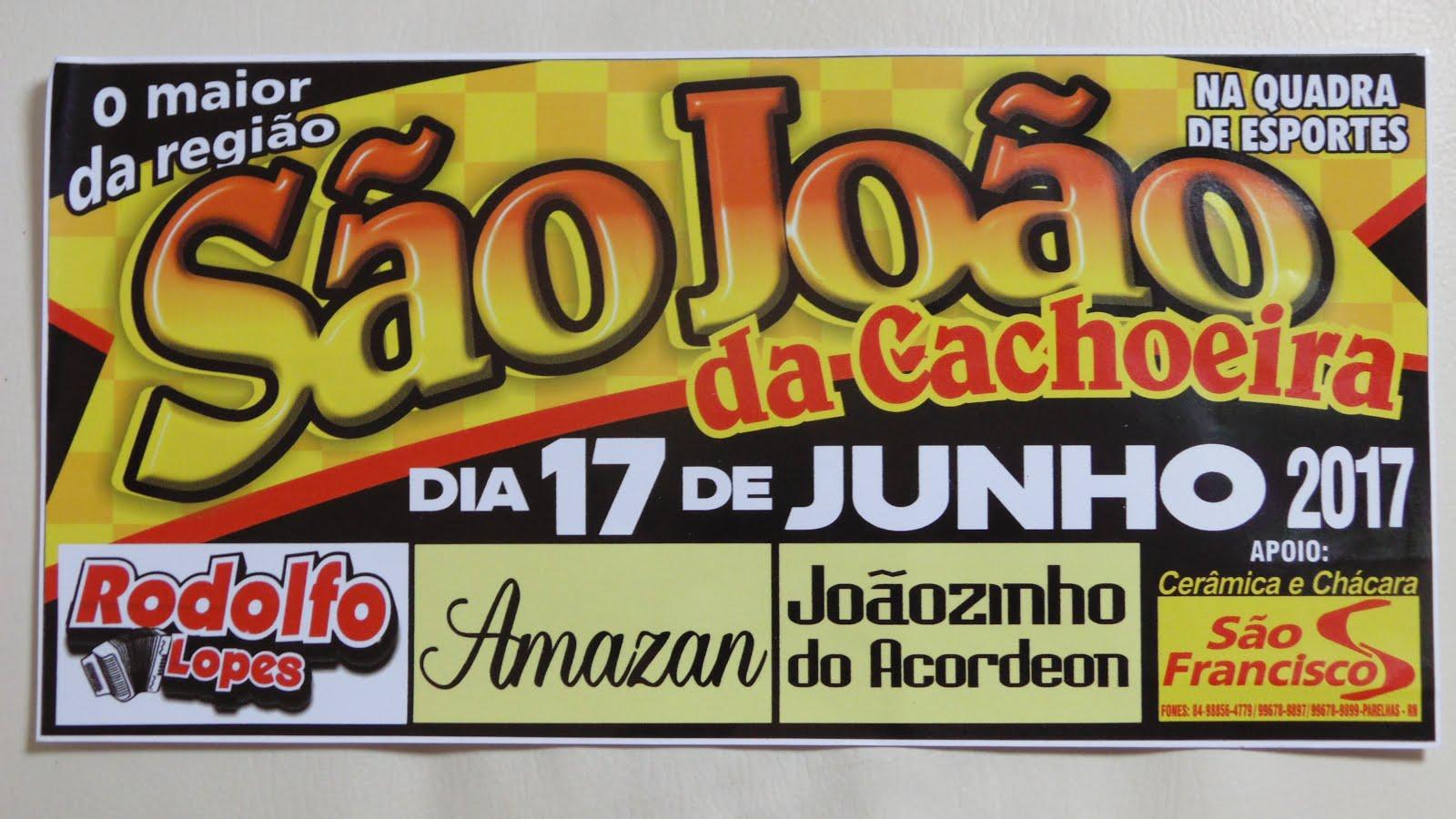 SÃO JOÃO CACHOEIRA