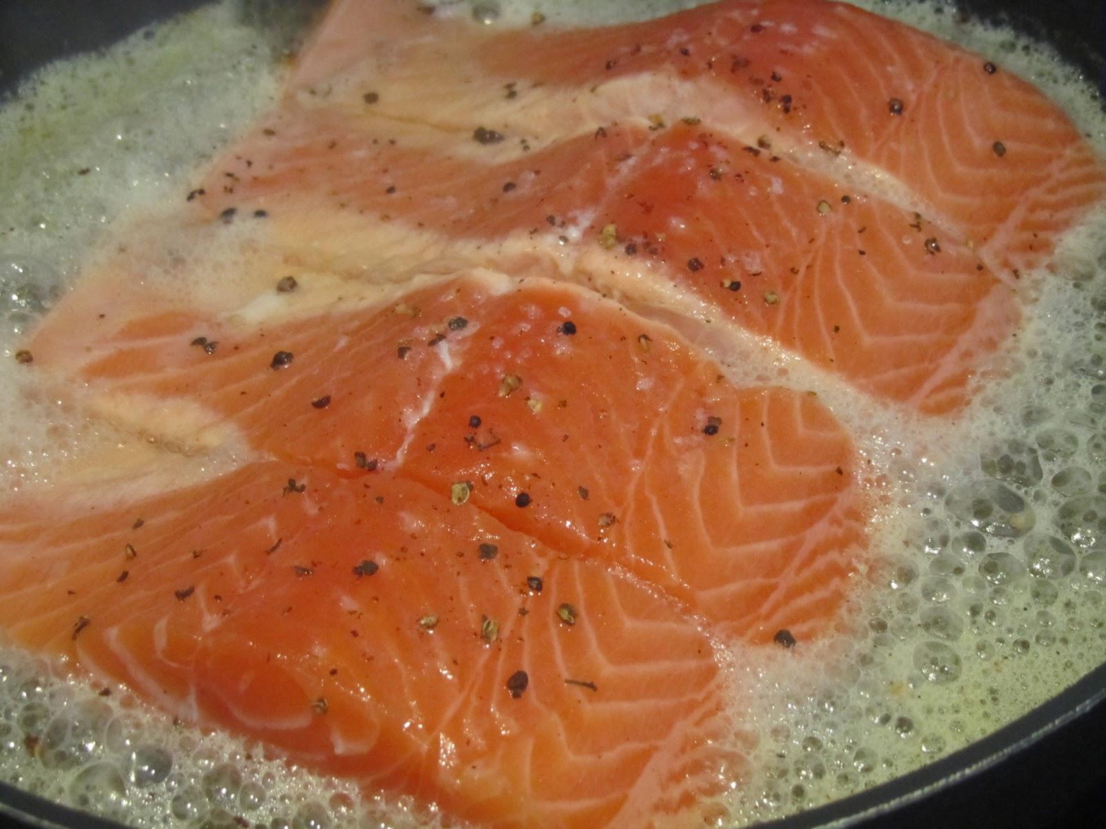 Cocinar Salmon Sarten | Las Recetas De Marichu Y Las Mias Salmon Al Cava Dia 7